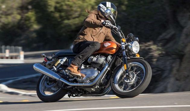 A revista Cruiser elegeu a INT650 a moto do ano de 2019